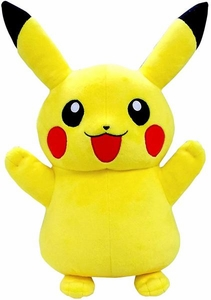 Pokemon TOMY 18 Inch Deluxe Plush Pikachu [Standing & Both Arms Waving!]