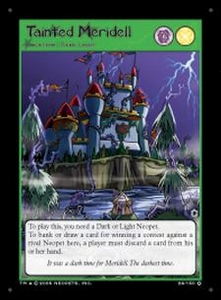 Neopets Darkest Faerie Holofoil Single Card #26 Tainted Meridell