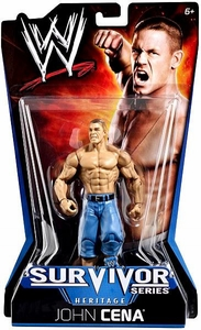 Mattel WWE Wrestling Survivor Series Heritage PPV Series 11 Action Figure John Cena