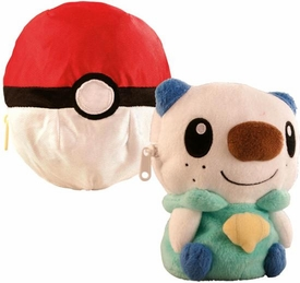 Pokemon TOMY Transforming Poke Ball Plush Oshawott