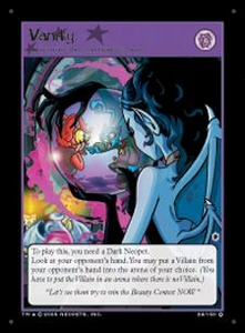 Neopets Darkest Faerie Holofoil Single Card #29 Vanity