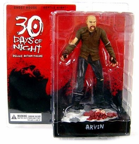 30 Days of Night Series 1 Action Figure Arvin (Bald Vampire)�[Includes Build-A-Figure Lillith Piece!]