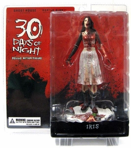 30 Days of Night Series 1 Action Figure Iris (Hunter Vampire) [Includes Build-A-Figure Lillith Piece!] (Burnt Variant)