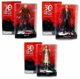 30 Days of Night Series 1 Set of 3 Action Figures [Build Lillith Figure!]