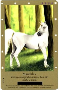 Bella Sara Horses Trading Card Game Series 2 Single Card Common 33/97 Mandalay