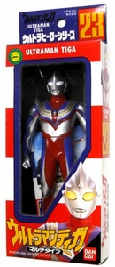 Ultraman Tiga Japanese 6 Inch Vinyl Figure Collection #23 Tiga