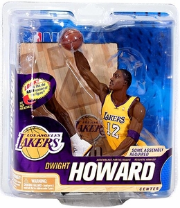 McFarlane Toys NBA Sports Picks Series 22 Action Figure Dwight Howard (Los Angeles Lakers) Yellow Jersey