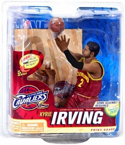 McFarlane Toys NBA Sports Picks Series 22 Action Figure Kyrie Irving (Cleveland Cavaliers) Red Jersey