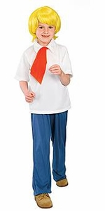 Scooby-Doo Kids Costume Fred (Child-Large Size) #38962