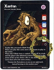 Neopets Trading Card Game Haunted Woods Rare Single Card #38 Xantan