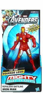 Marvel Avengers Movie Mighty Battlers Repulsor Battling Iron Man BLOWOUT SALE!