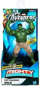 Marvel Avengers Movie Mighty Battlers Fist Smashing Hulk