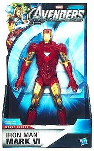Marvel Avengers Movie Deluxe 8 Inch Action Figure Iron Man