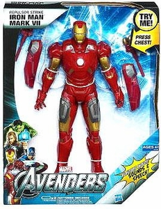 Marvel Avengers Movie Ultimate Electronic Figure Repulsor Strike Iron Man