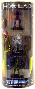 Halo ActionClix Trading Miniature Figure Game Blue Spartan Battle Pack