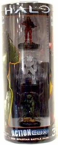 Halo ActionClix Trading Miniature Figure Game Red Spartan Battle Pack