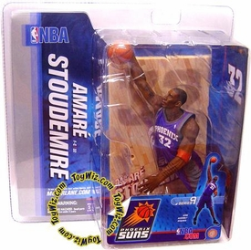 McFarlane Toys NBA Sports Picks Series 9 Action Figure Amare Stoudamire (Phoenix Suns) Purple Jersey