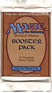 Magic the Gathering Revised Edition Booster Pack [15 cards]