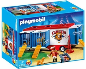 Playmobil Circus Set #4232 Animal Trailer