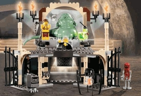 LEGO Star WarsLOOSE Complete Set #4480 Jabba's Palace No Minifigs! No Box!