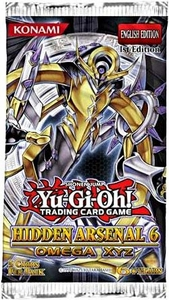 YuGiOh Hidden Arsenal 6: Omega Xyz Booster Pack