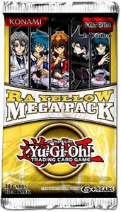 YuGiOh Ra Yellow Mega Booster Pack