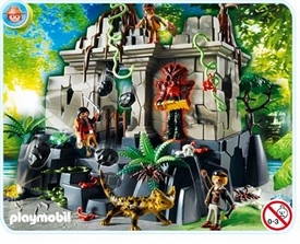 Playmobil Treasure Hunters Set #4842 Treasure Temple with Guards
