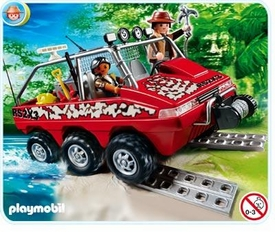 Playmobil Treasure Hunters Set #4844 Treasure Hunters Amphibious Truck
