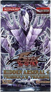 YuGiOh 5D's Hidden Arsenal 4: Trishula's Triumph Booster Pack [5 Cards]