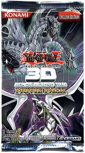 YuGiOh Movie 3D Bonds Beyond Time Booster Pack [5 Cards]
