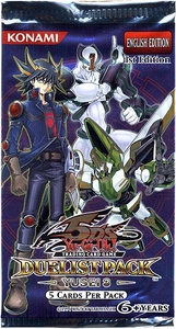 YuGiOh 5D's Yusei 3 Duelist Booster Pack [5 Cards]
