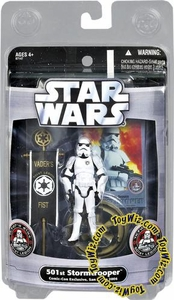 Star Wars Saga 2006 Basic Action Figure Exclusive 501st Stormtrooper