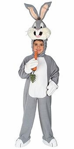 Looney Toons Kids Costume Fleece Bugs Bunny (Child) #50982 TODDLER ONLY!