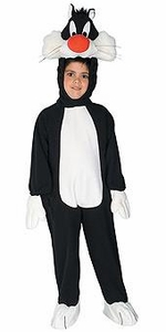 Looney Toons Kids Costume Fleece Sylvester (Child) #50984