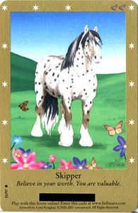 Bella Sara Horses Trading Card Game Series 2 Single Card Common 51/97 Skipper