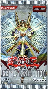 YuGiOh GX Light of Destruction Booster Pack