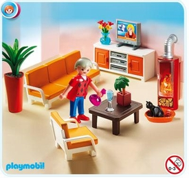 Playmobil Doll's House #5332 Comfortable Living Room