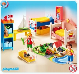 Playmobil Doll's House #5333 Boy and Girl Room