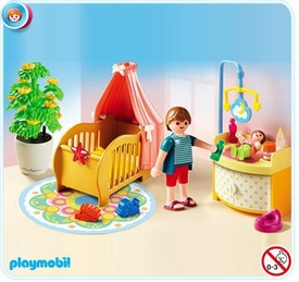 Playmobil Doll's House #5334 Baby Room with Mobile