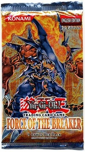 YuGiOh GX Force of the Breaker Booster Pack
