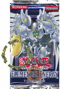 YuGiOh GX Elemental Energy Booster Pack