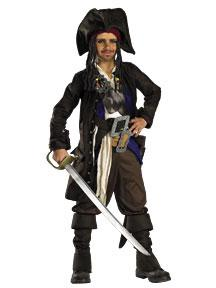 Pirates of the Caribbean Child Costume #5639J Jack Sparrow Prestige Premium (14-16)