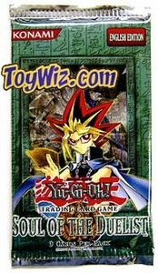 YuGiOh Soul of the Duelist Booster Pack