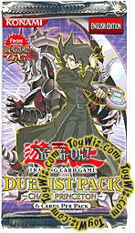 YuGiOh GX Chazz Princeton Duelist Booster Pack