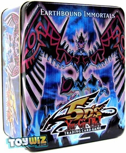 YuGiOh 5D's 2009 Wave 2 Collector Tin Set Earthbound Immortal Wiraqocha Rasca [Rex Goodwin]