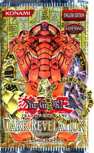 YuGiOh Dark Revelation Volume 3 Booster Pack