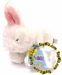 Lil'Kinz Mini Plush White Bunny Rabbit