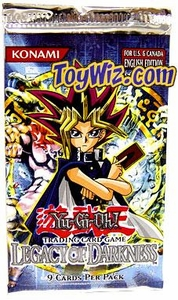 YuGiOh Legacy of Darkness 1st EDITION Booster Pack