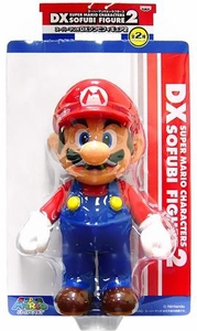 Super Mario Brothers BanPresto 9 Inch DX Series 2 Vinyl Figure Mario