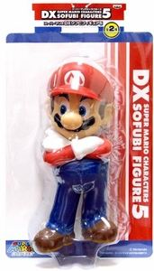 Super Mario Brothers BanPresto 9 Inch DX Series 5 Vinyl Figure Super Mario [Arms Crossed]